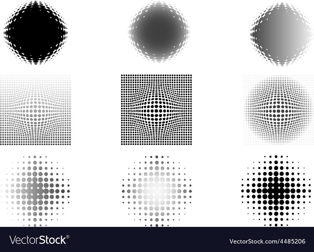 9 circular fades 5 vector | Price: 1 Credit (USD $1)