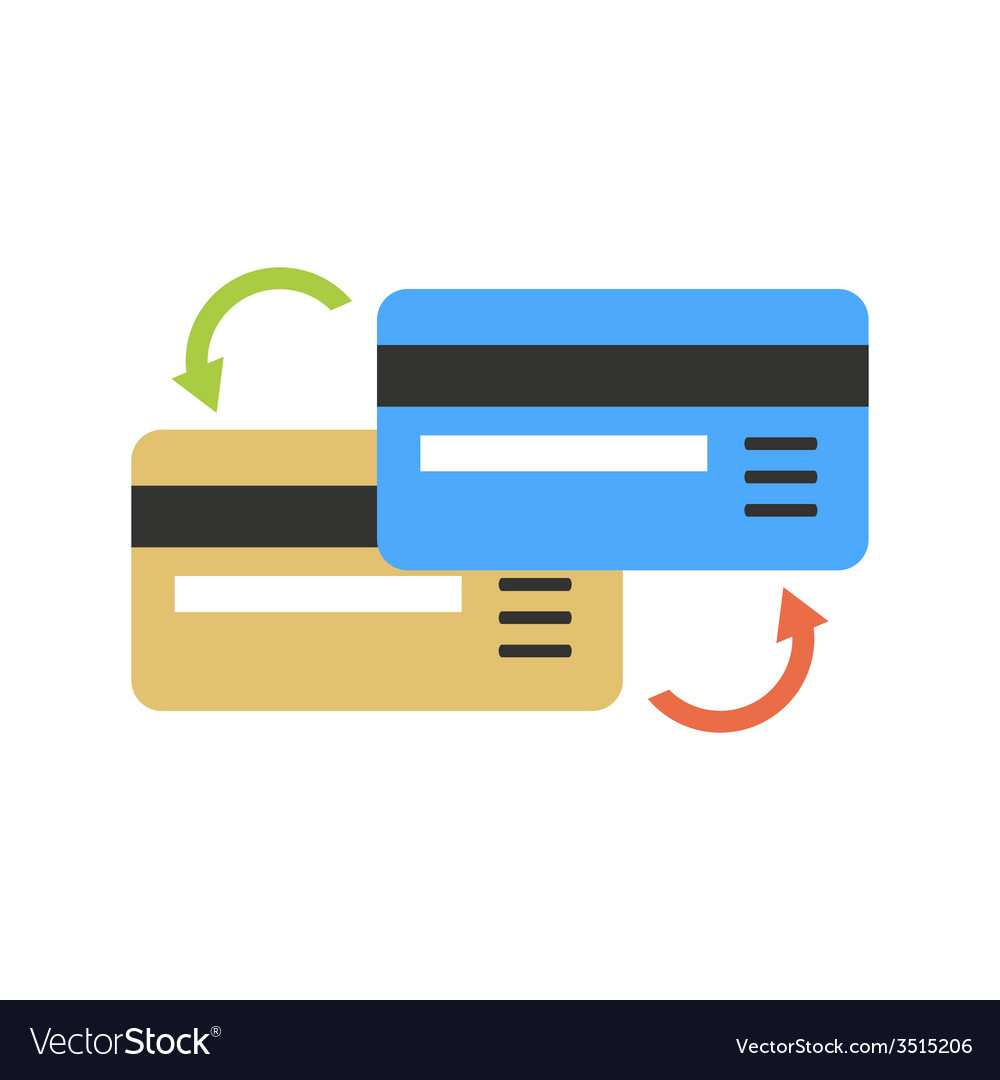 Bank transactions vector | Price: 1 Credit (USD $1)
