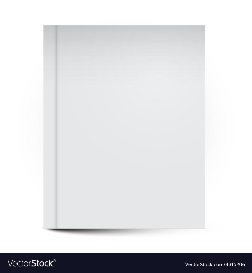 Empty book cover vector | Price: 1 Credit (USD $1)