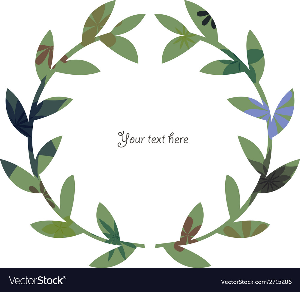Wreath vintage 2 vector | Price: 1 Credit (USD $1)