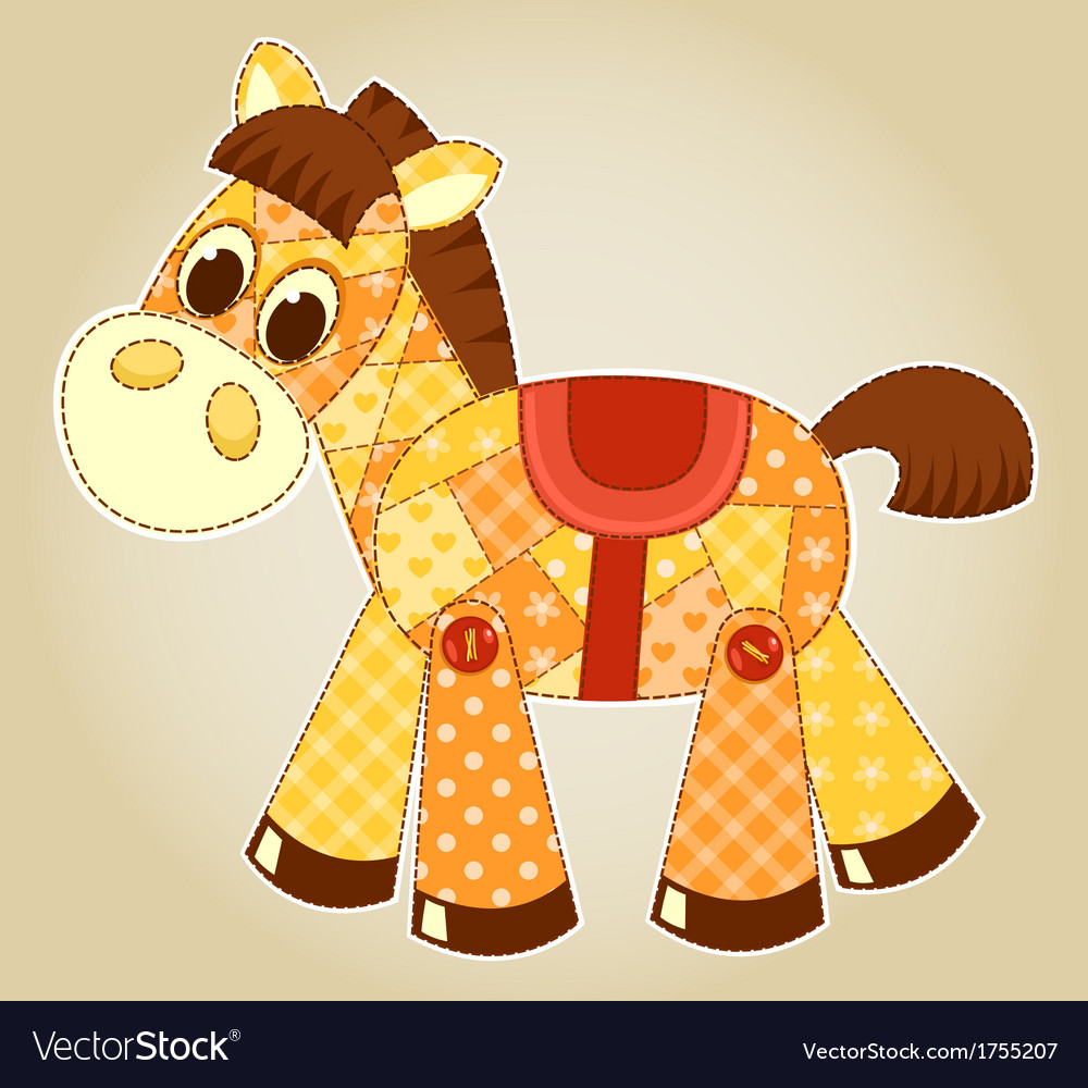 Application horse vector | Price: 1 Credit (USD $1)