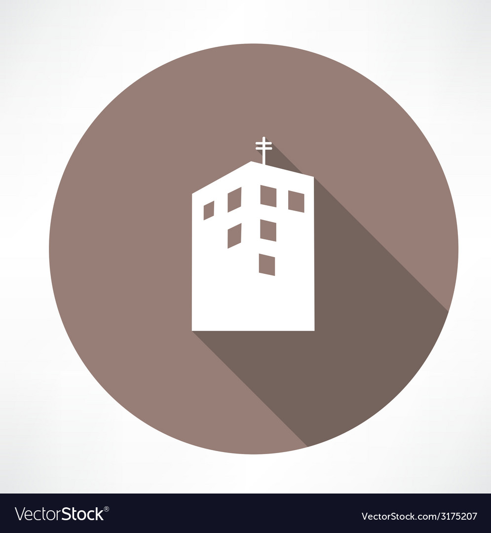 Townhouse icon vector | Price: 1 Credit (USD $1)