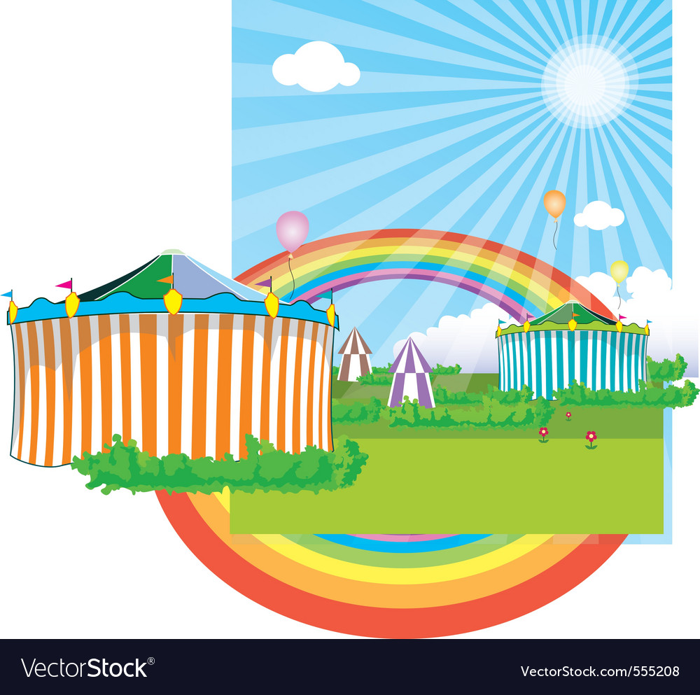 Background circus vector | Price: 1 Credit (USD $1)