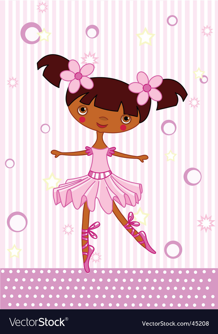 Ballet girl vector   Price: 1 Credit (USD $1)
