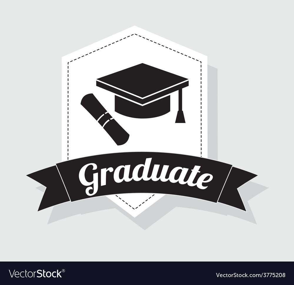 Graduate vector | Price: 1 Credit (USD $1)