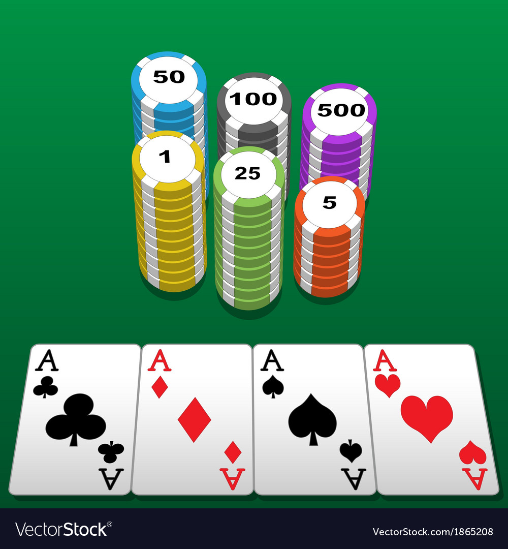 Poker table vector | Price: 1 Credit (USD $1)