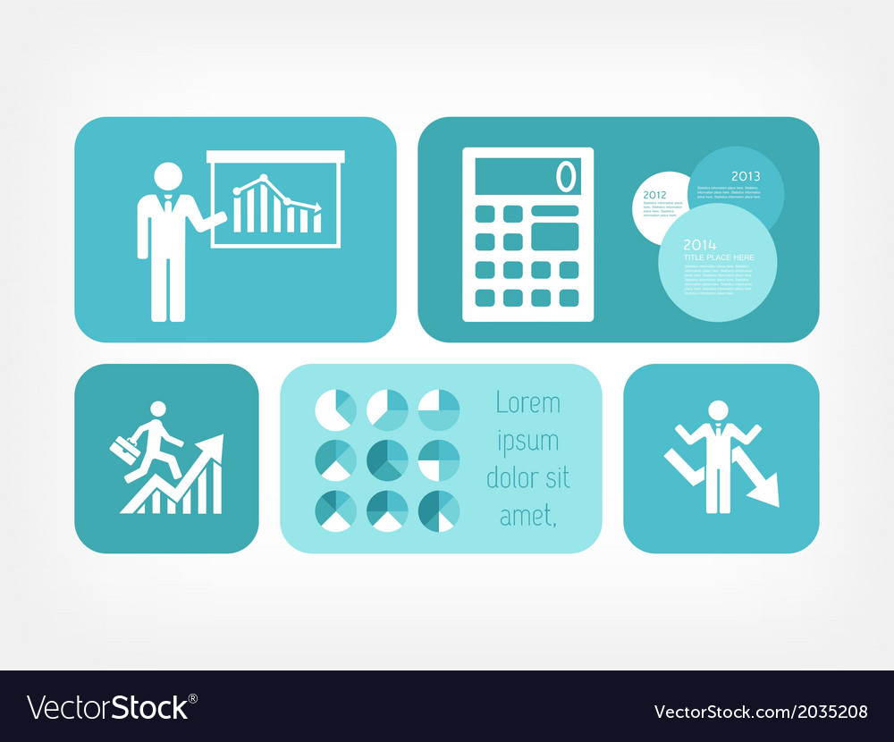 Social media infographic vector | Price: 1 Credit (USD $1)