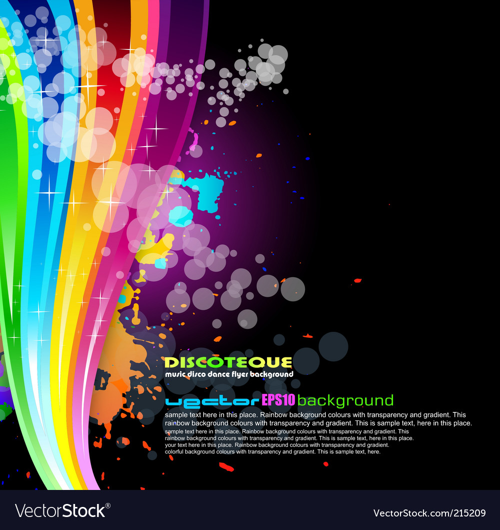 Rainbow spectrum background vector | Price: 3 Credit (USD $3)