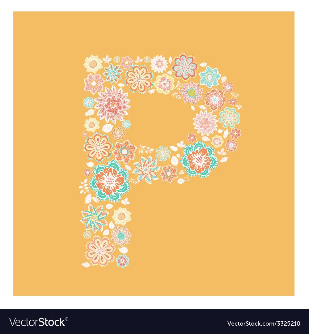 Alphabet letter vector | Price: 1 Credit (USD $1)