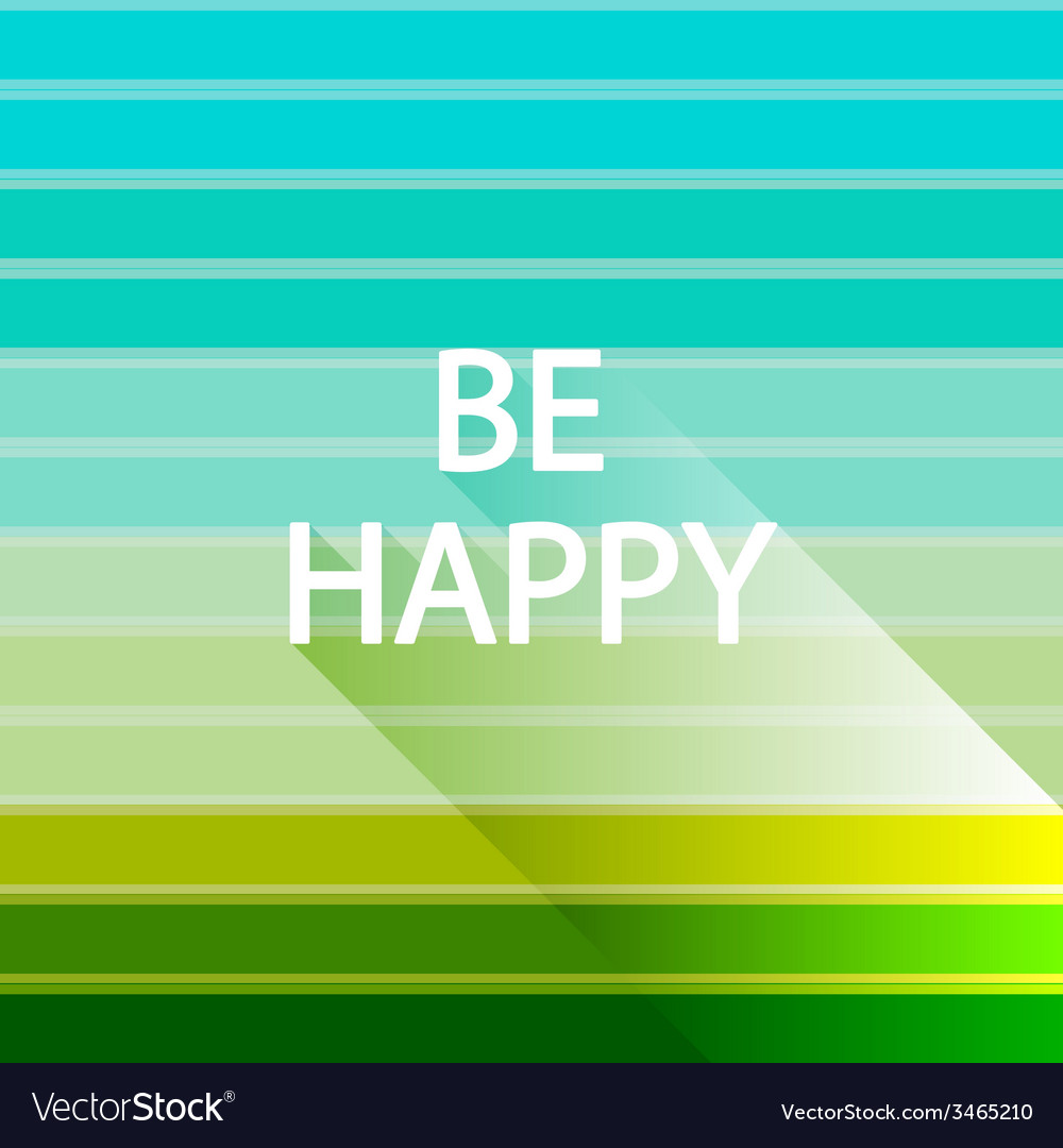 Be happy light natural light color vector | Price: 1 Credit (USD $1)