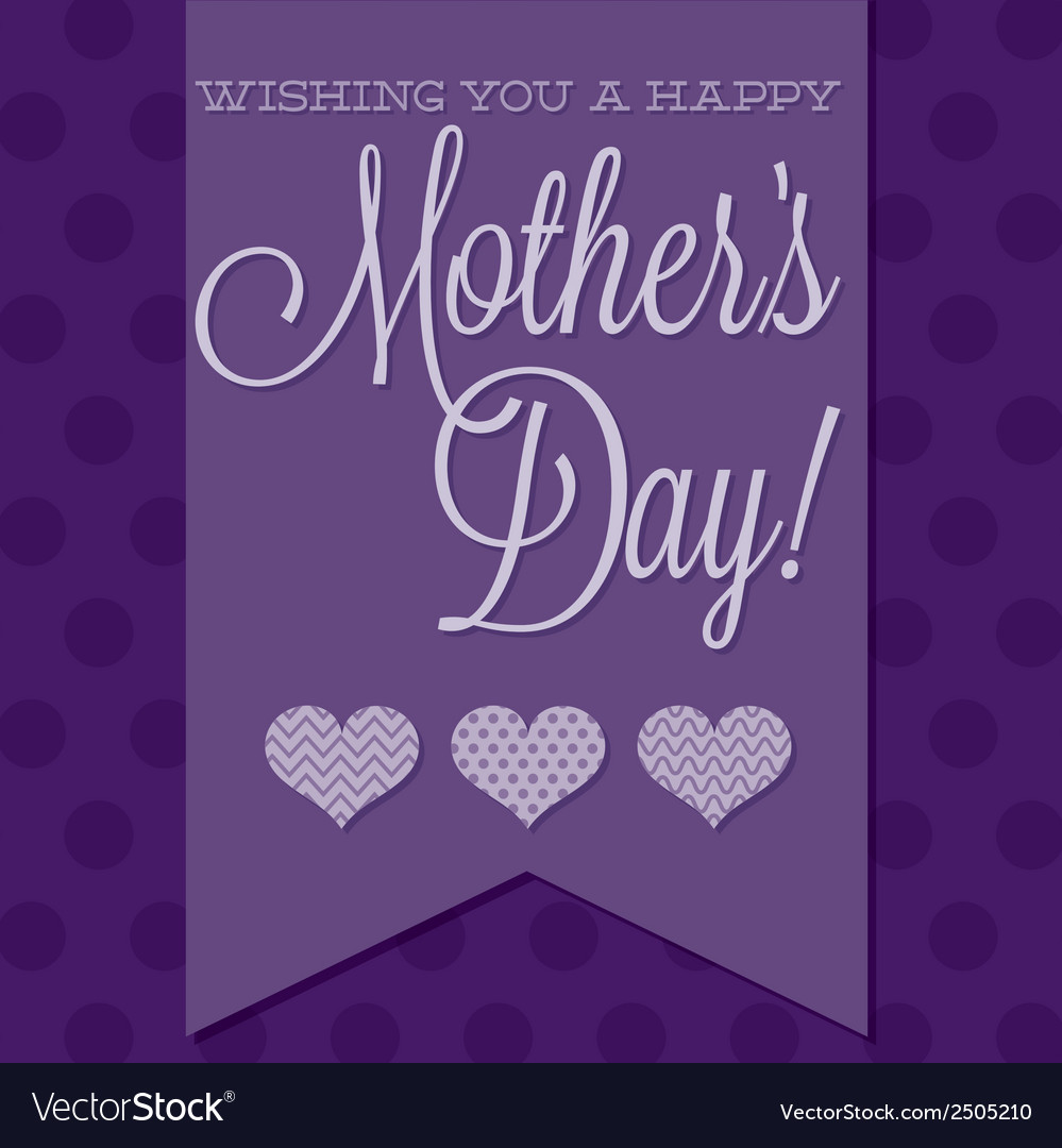 Mothers day background vector | Price: 1 Credit (USD $1)