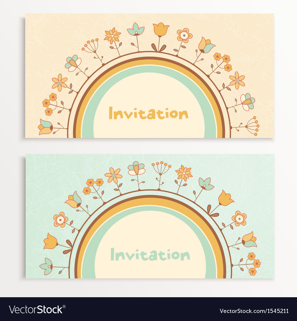 Baby shower cards vector | Price: 1 Credit (USD $1)