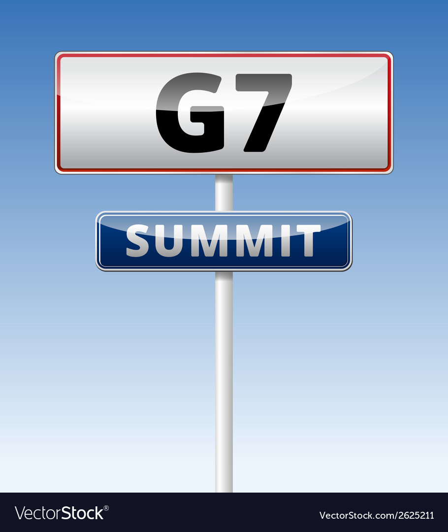 G7 summit vector | Price: 1 Credit (USD $1)