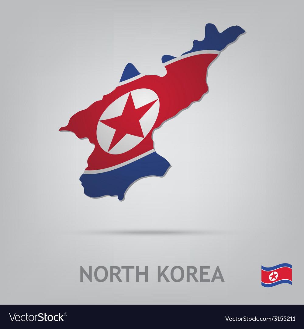 North korea vector   Price: 1 Credit (USD $1)