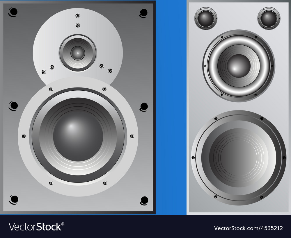 2 loudspeaker cabinets vector | Price: 1 Credit (USD $1)