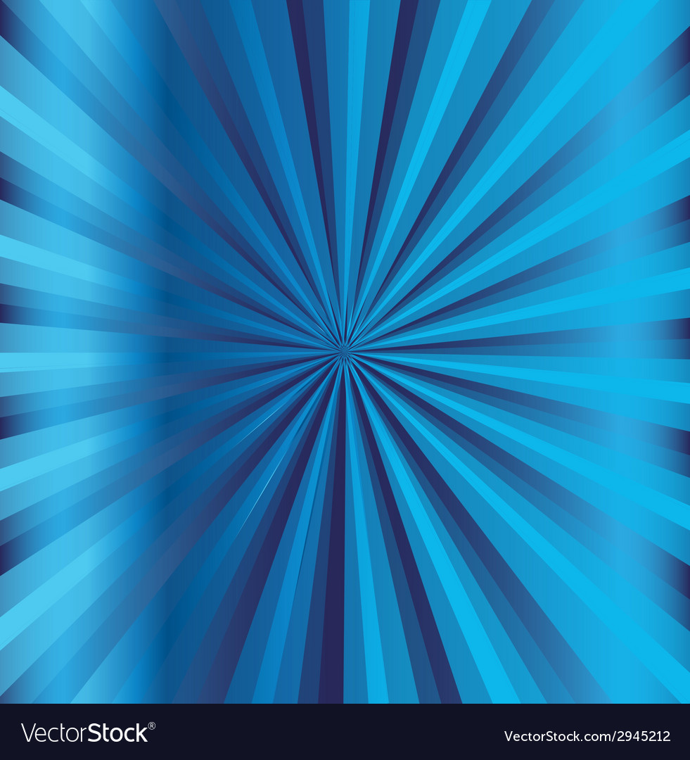 Blue rays background vector