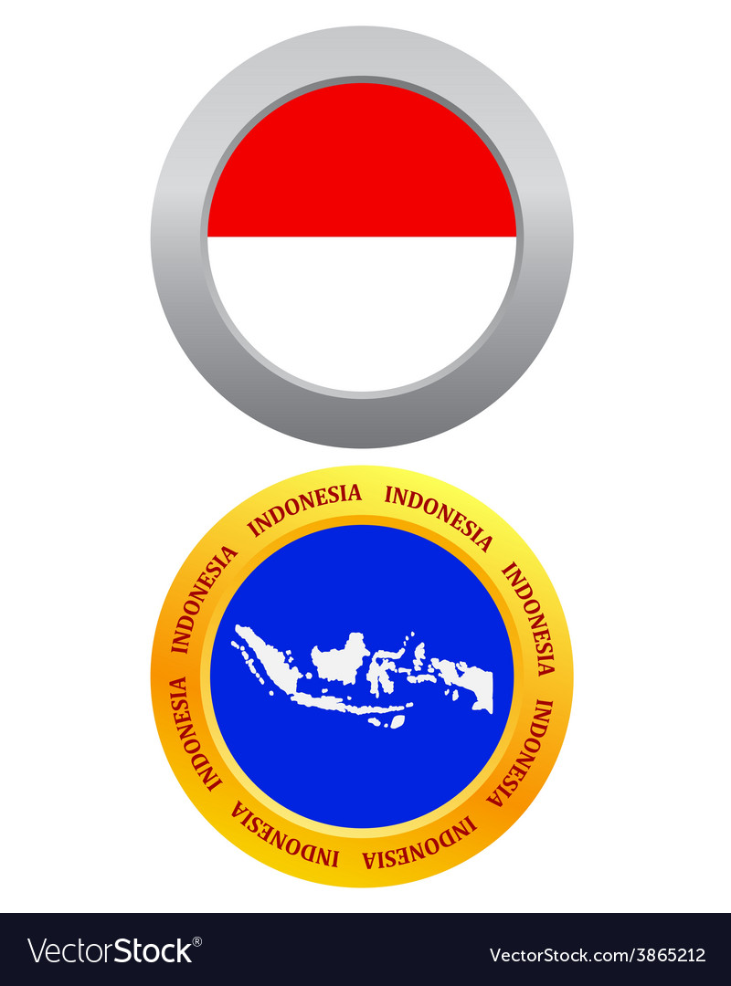 Button as a symbol indonesia vector   Price: 1 Credit (USD $1)