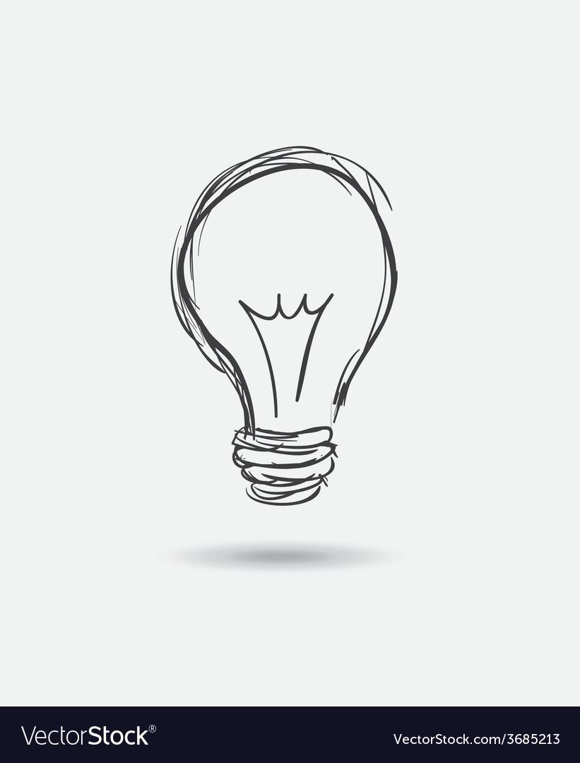 Bulb idea design vector   Price: 1 Credit (USD $1)