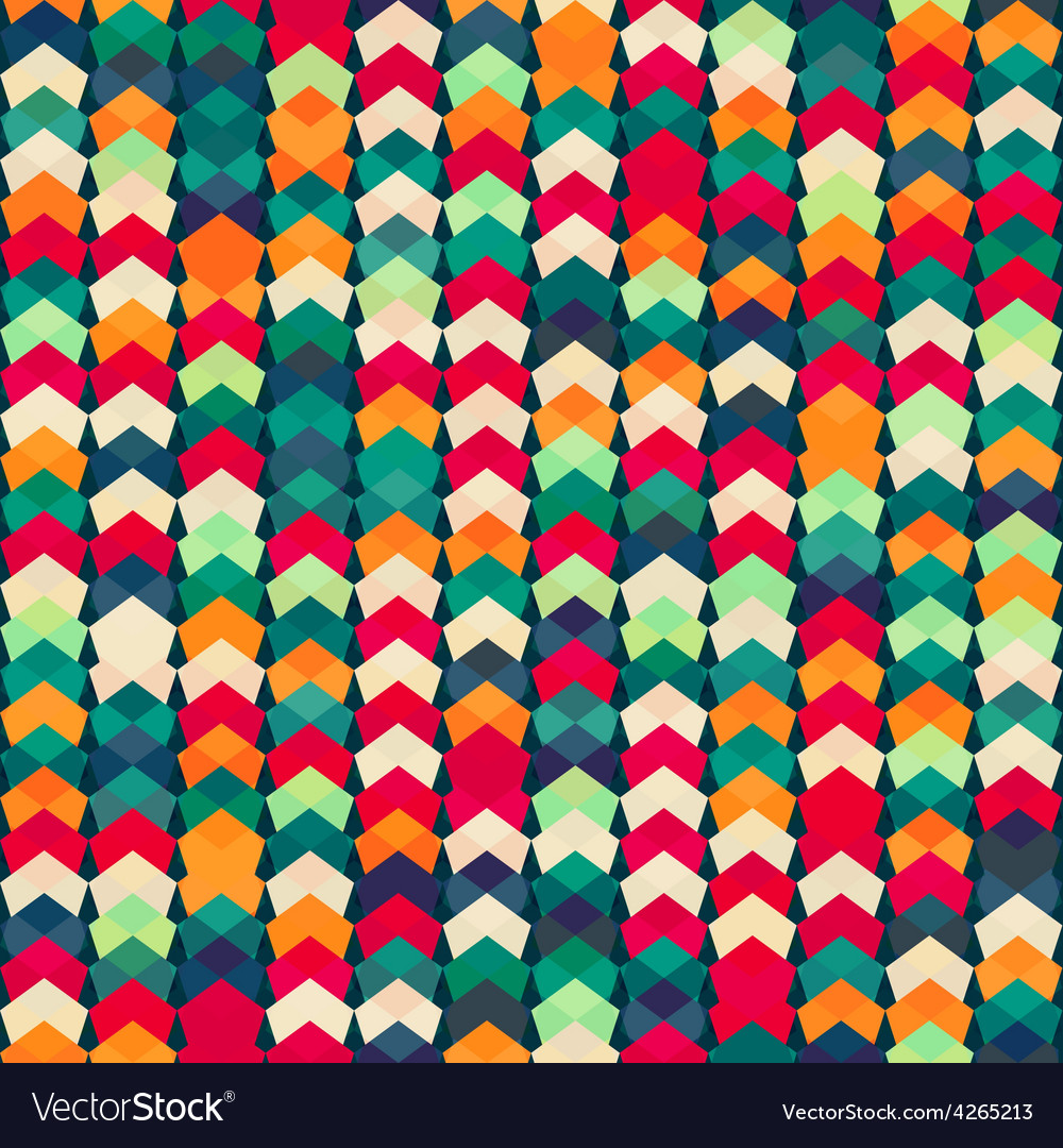 Colorful textile seamless pattern vector | Price: 1 Credit (USD $1)