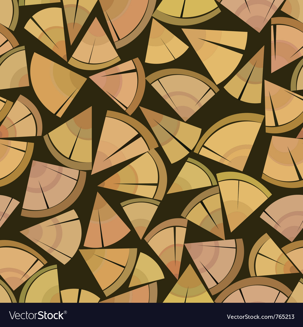 Firewood seamless background vector | Price: 1 Credit (USD $1)