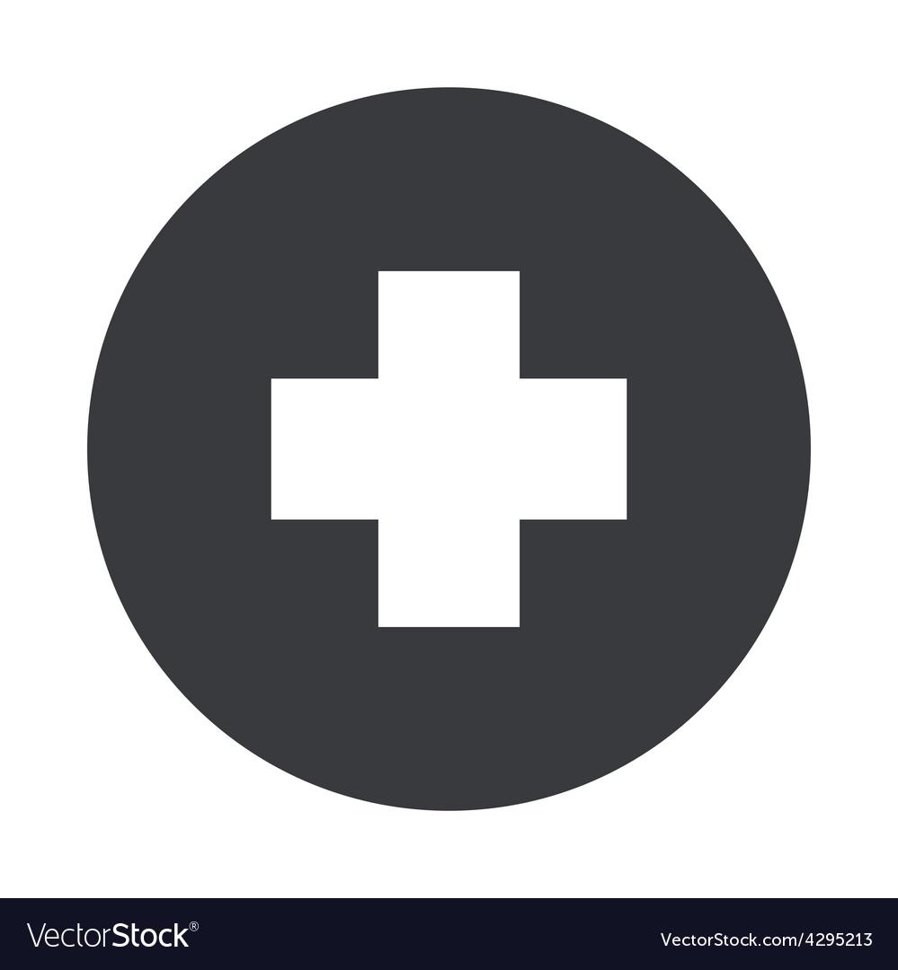 Modern gray circle icon vector   Price: 1 Credit (USD $1)