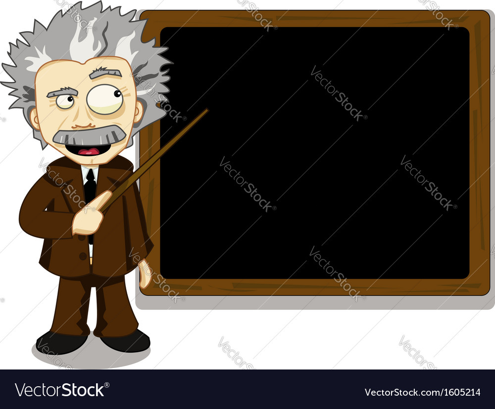 Funny teacher vector | Price: 1 Credit (USD $1)