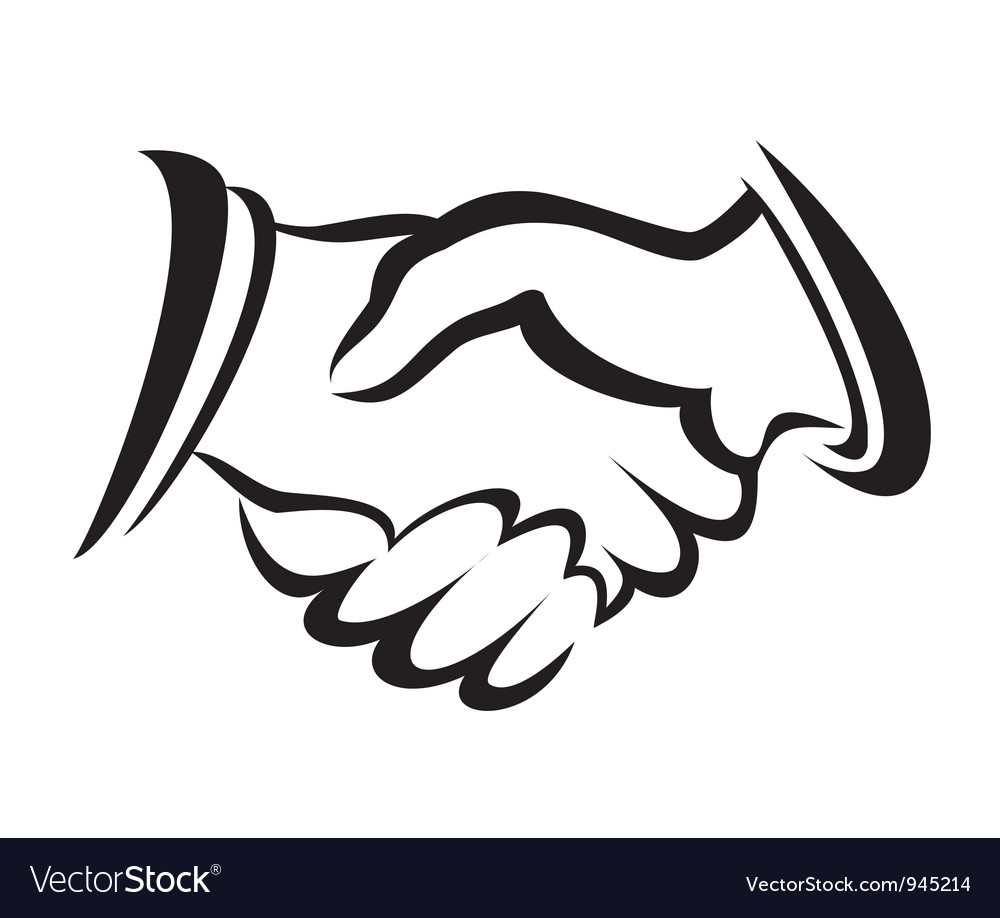 Handshake symbol vector | Price: 1 Credit (USD $1)
