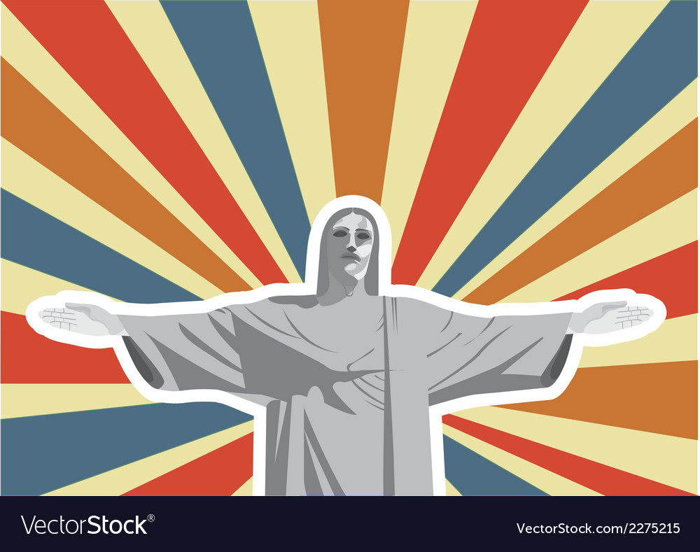 Christ the redeemer vector   Price: 1 Credit (USD $1)