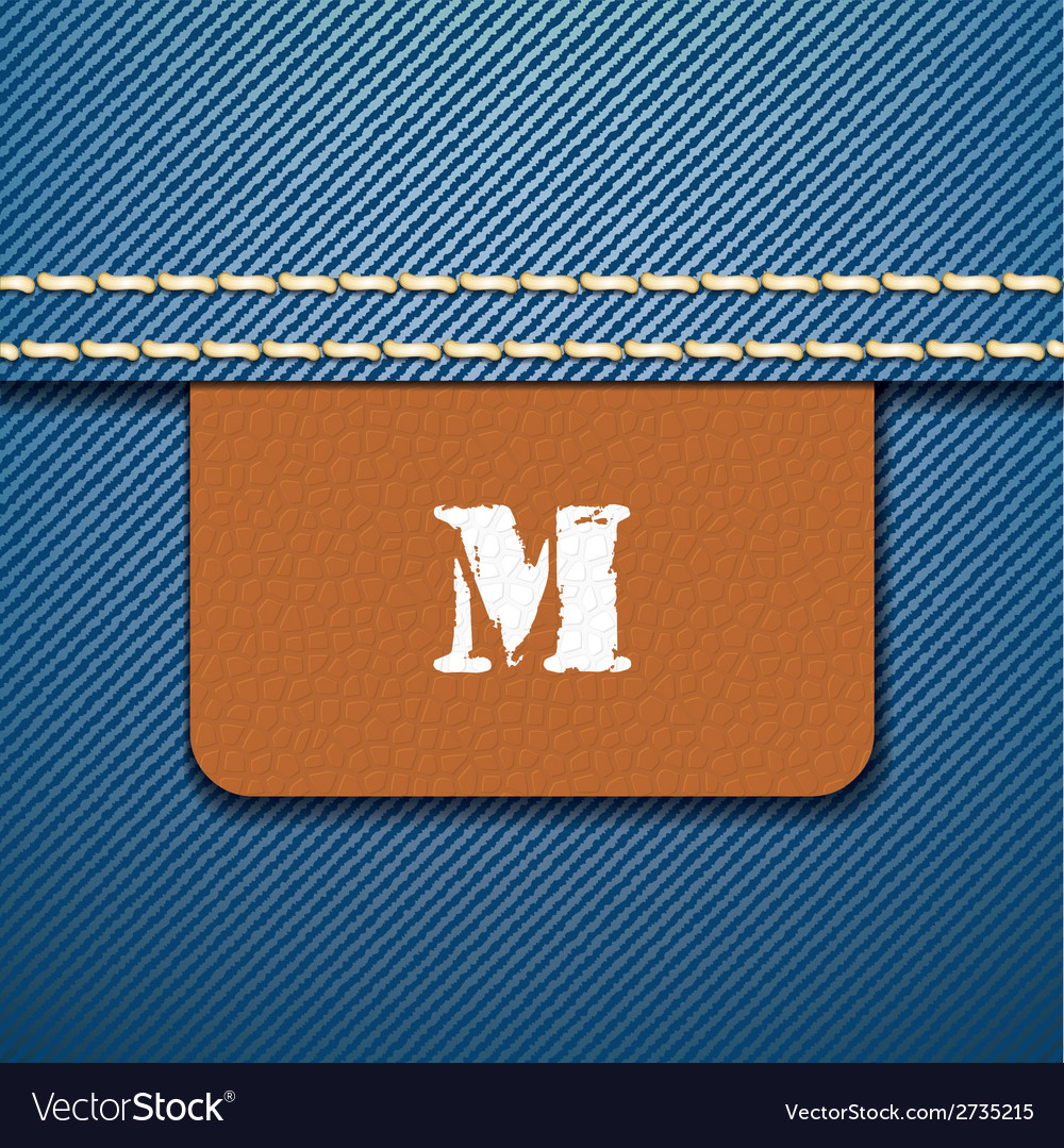M size clothing label - vector | Price: 1 Credit (USD $1)