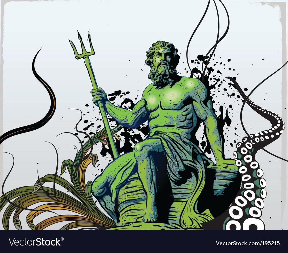 Poseidon vector | Price: 3 Credit (USD $3)