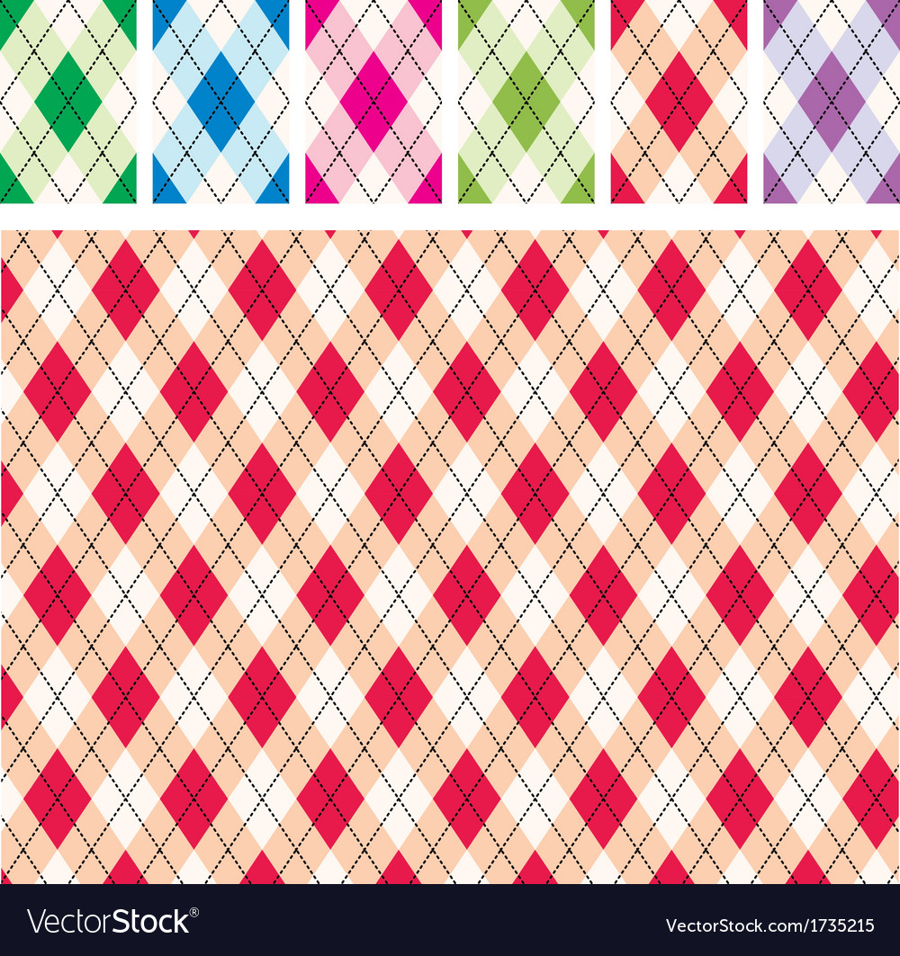 Scottish patterns vector | Price: 1 Credit (USD $1)