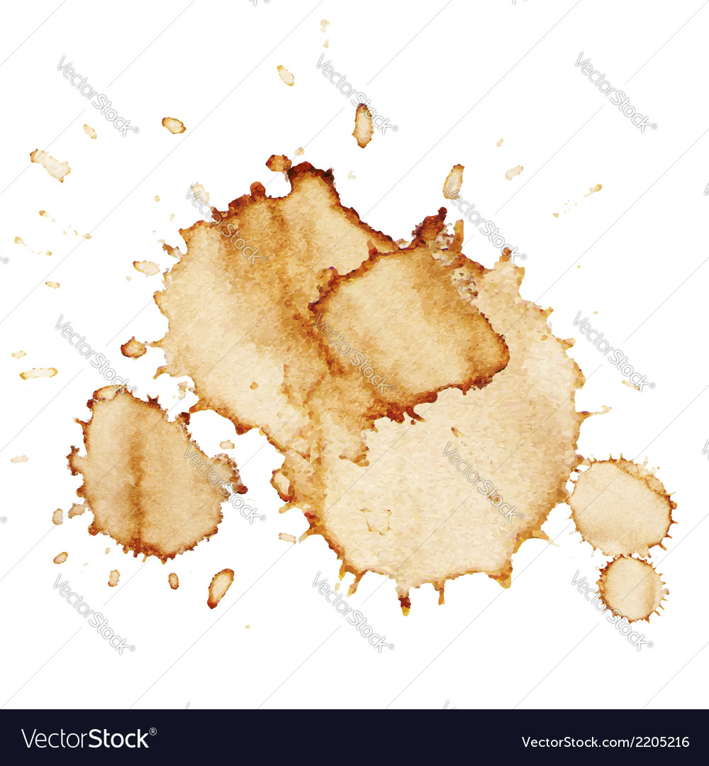Coffee stains vector | Price: 1 Credit (USD $1)