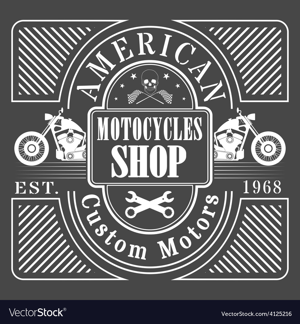 Motocycles vector | Price: 1 Credit (USD $1)