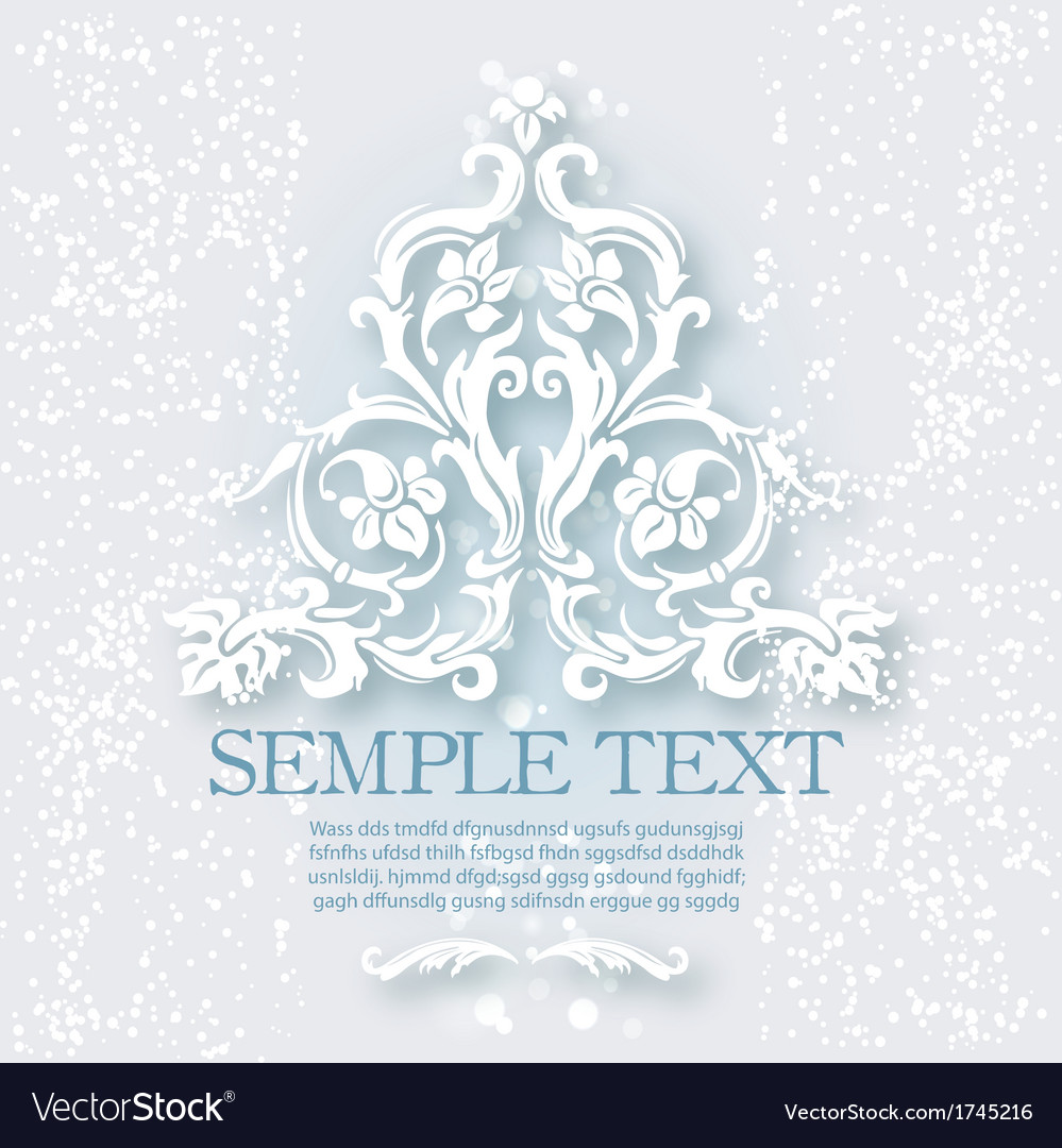 Vintage baroque elements vector | Price: 1 Credit (USD $1)
