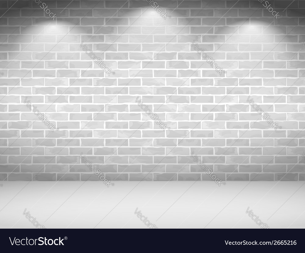 White brick wall vector | Price: 1 Credit (USD $1)