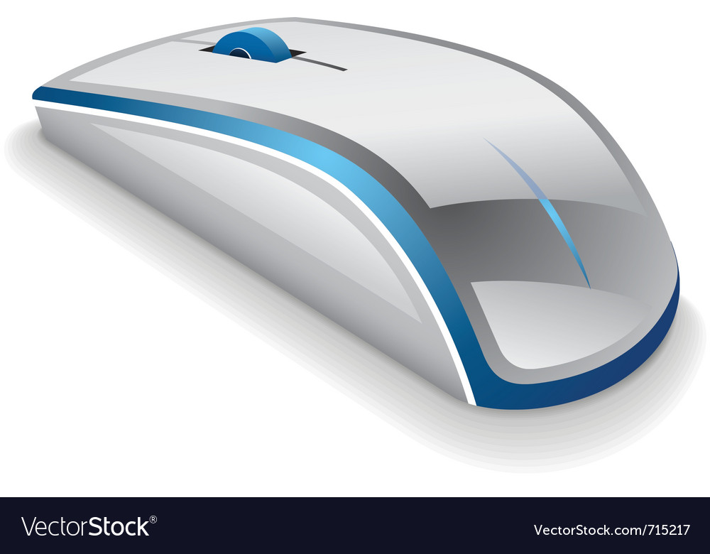 Computer mouse vector | Price: 3 Credit (USD $3)