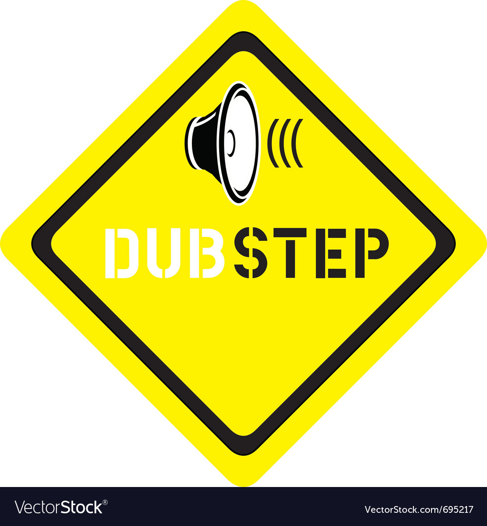 Dubstep logo vector | Price: 1 Credit (USD $1)