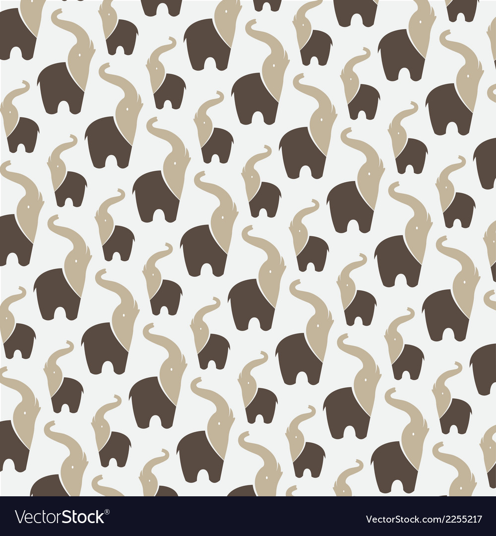 Elephant background vector | Price: 1 Credit (USD $1)