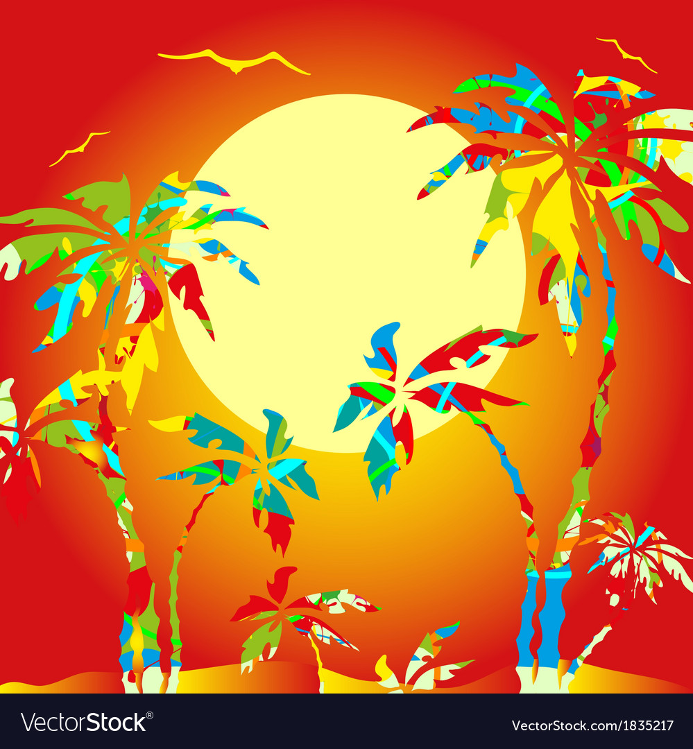 Palm vector | Price: 1 Credit (USD $1)