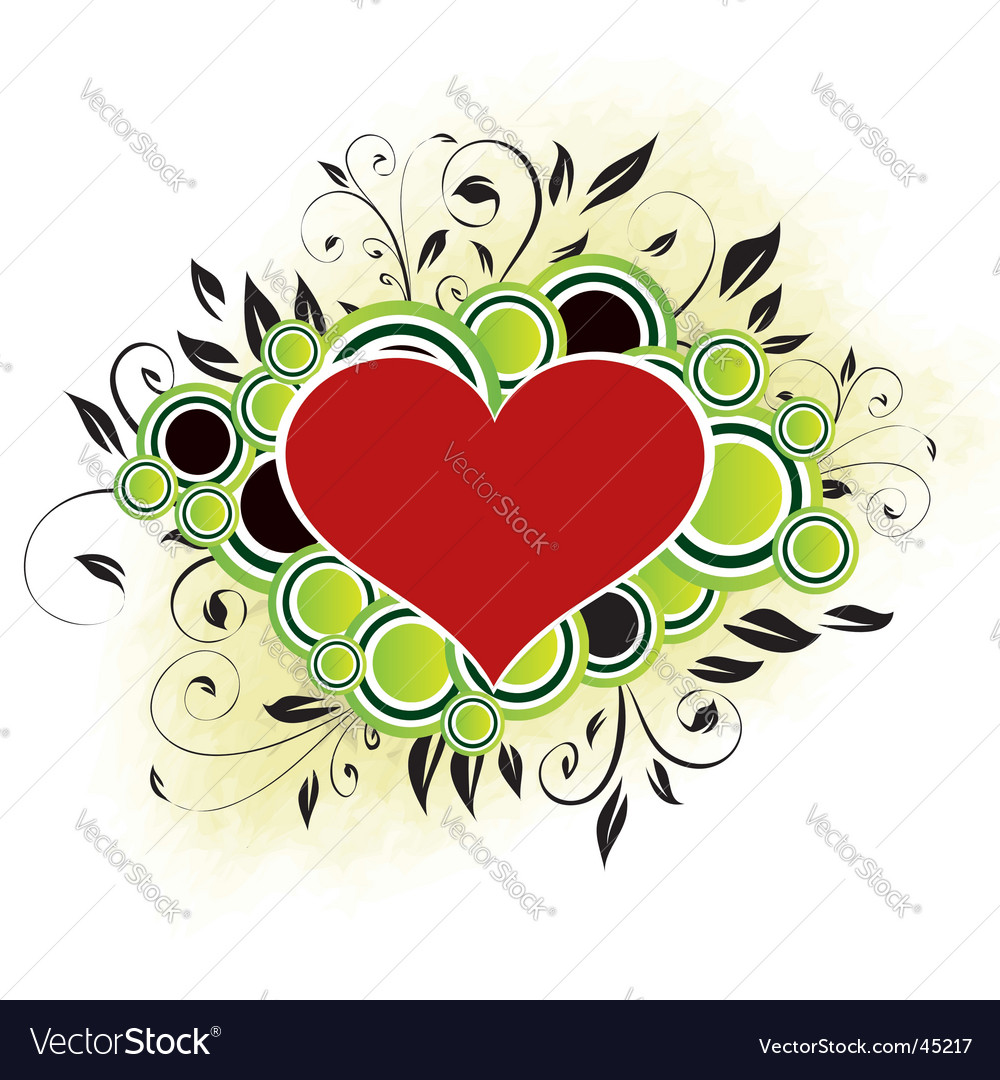 Valentine's design vector | Price:  Credit (USD $)
