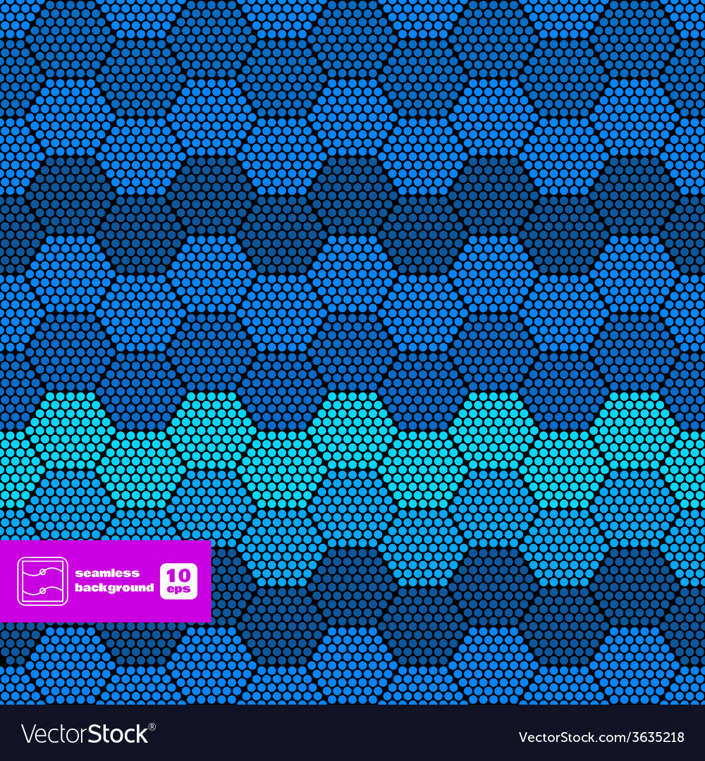 Abstract hexagon dots background vector | Price: 1 Credit (USD $1)