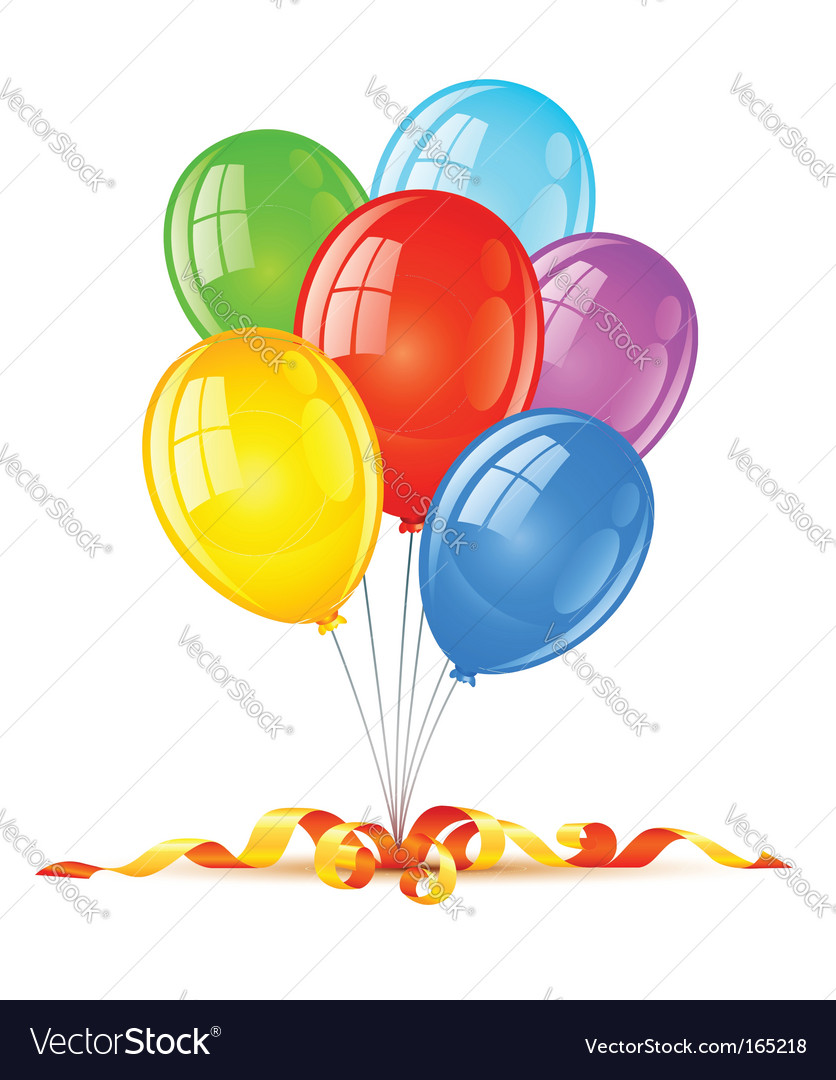 Birthday holiday celebration vector | Price: 1 Credit (USD $1)