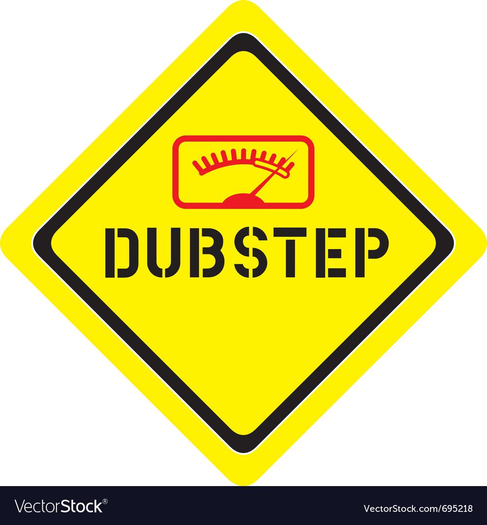 Dubstep logo vector