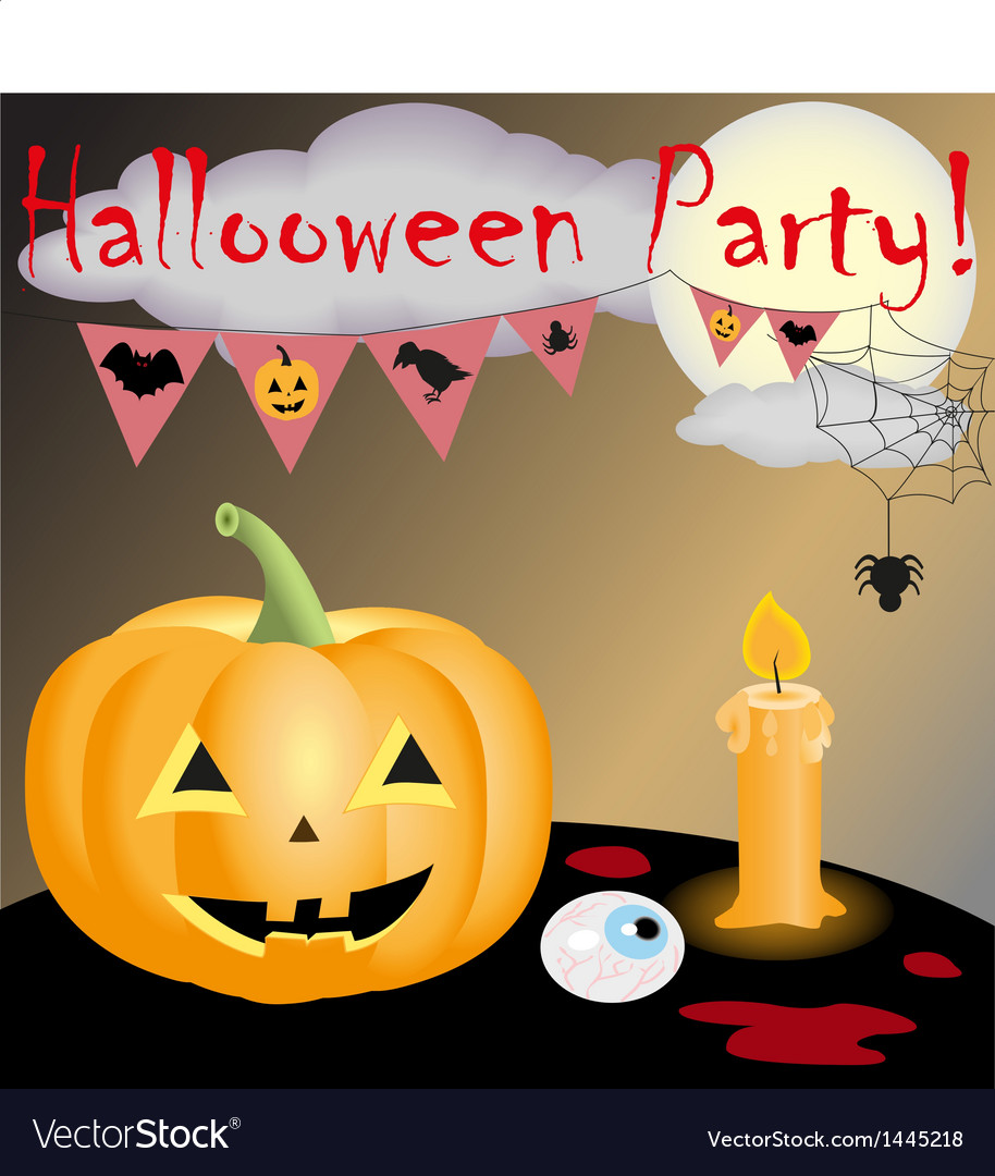 Halloween party new vector | Price: 1 Credit (USD $1)