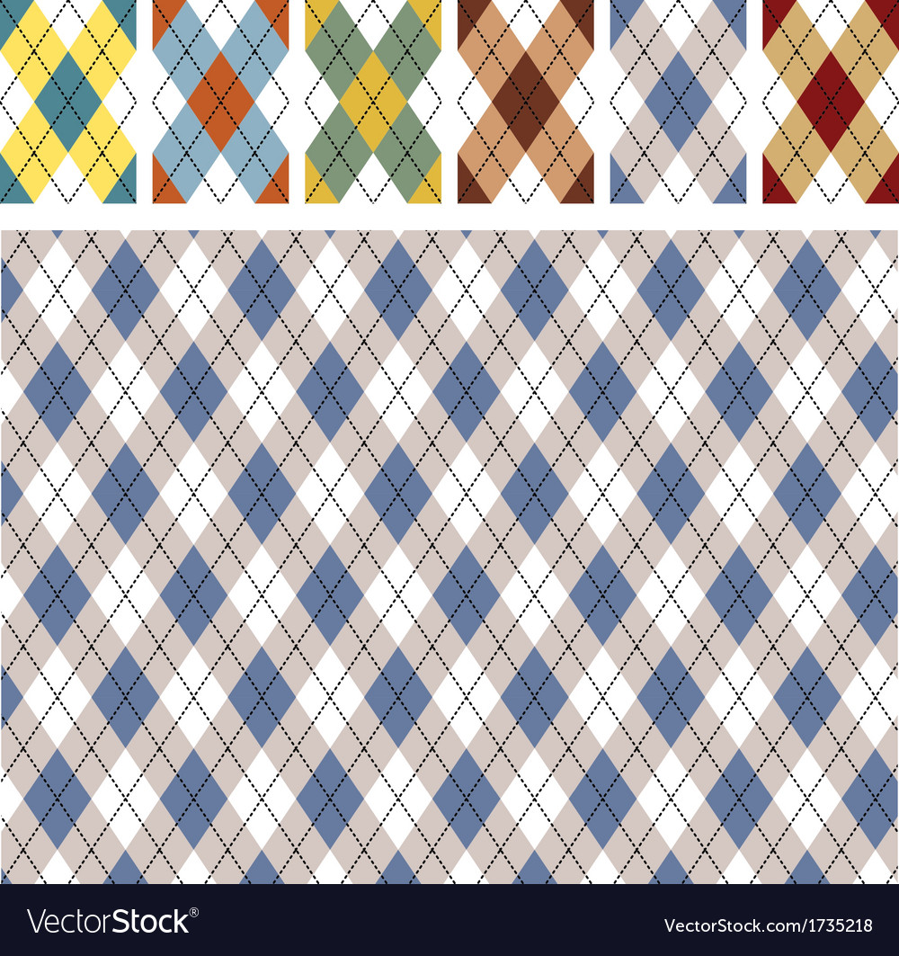 New scottish patterns vector | Price: 1 Credit (USD $1)