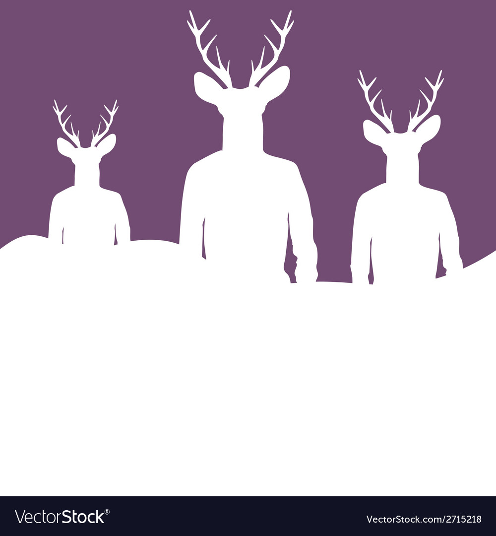 Silhouettes of hipsters vector | Price: 1 Credit (USD $1)