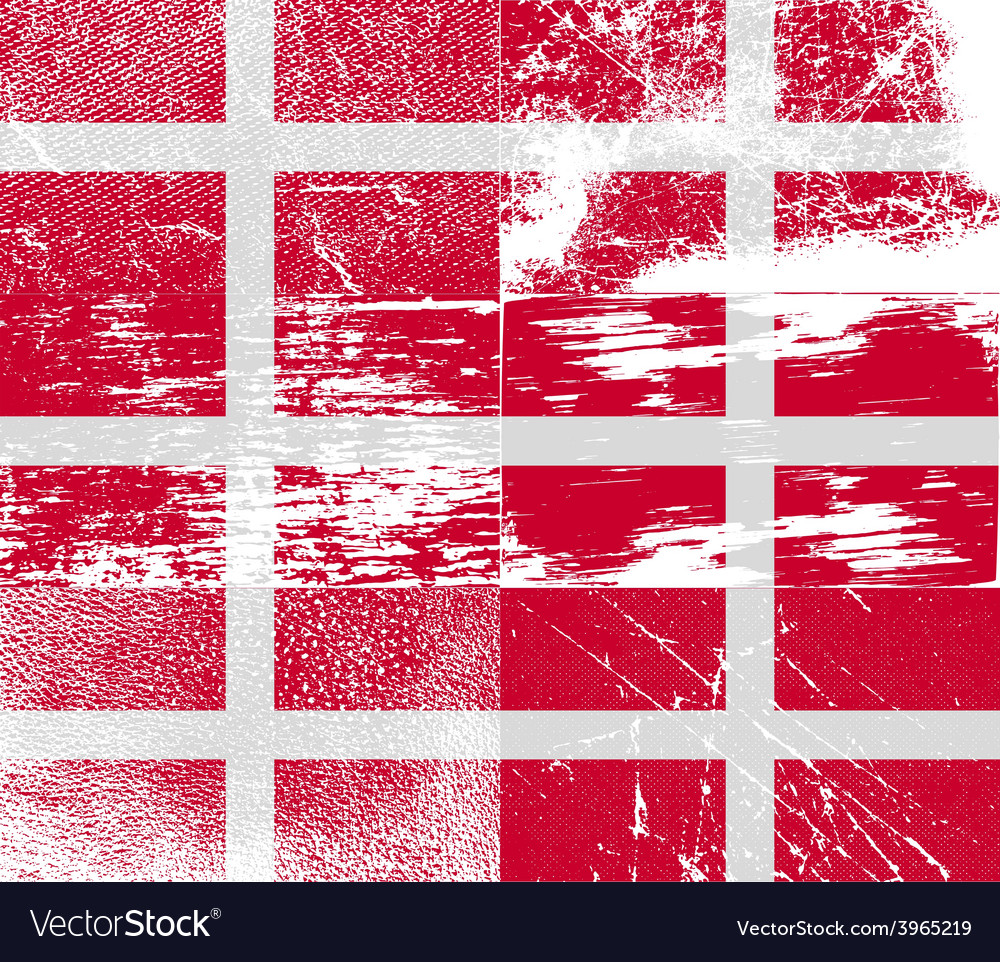 Flag of military order malta with old texture vector | Price: 1 Credit (USD $1)