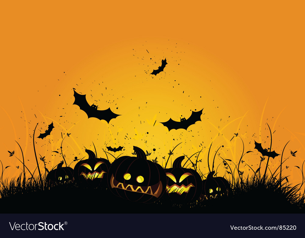 Halloween grunge background vector | Price: 1 Credit (USD $1)