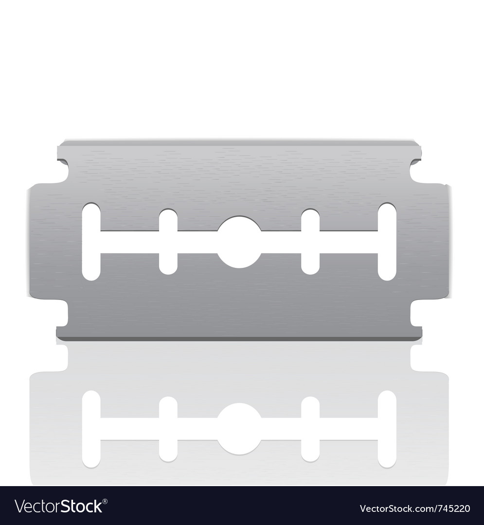 Razor blade vector | Price: 3 Credit (USD $3)