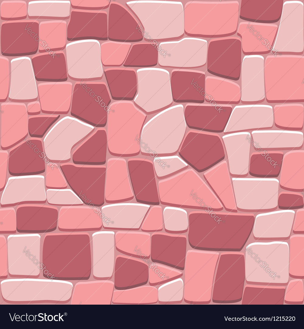 Stone wall background in seamless format vector | Price: 1 Credit (USD $1)
